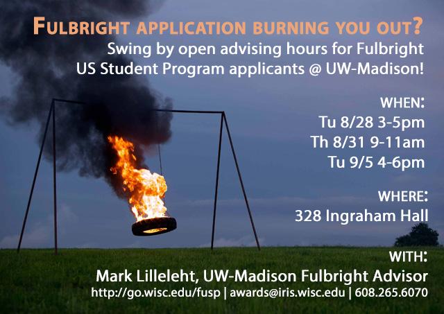 Fulbright US Student Program open advising hours