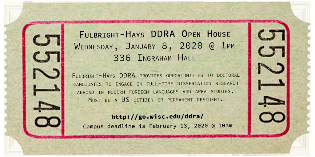 DDRA open house 2020