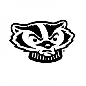 bucky badger head