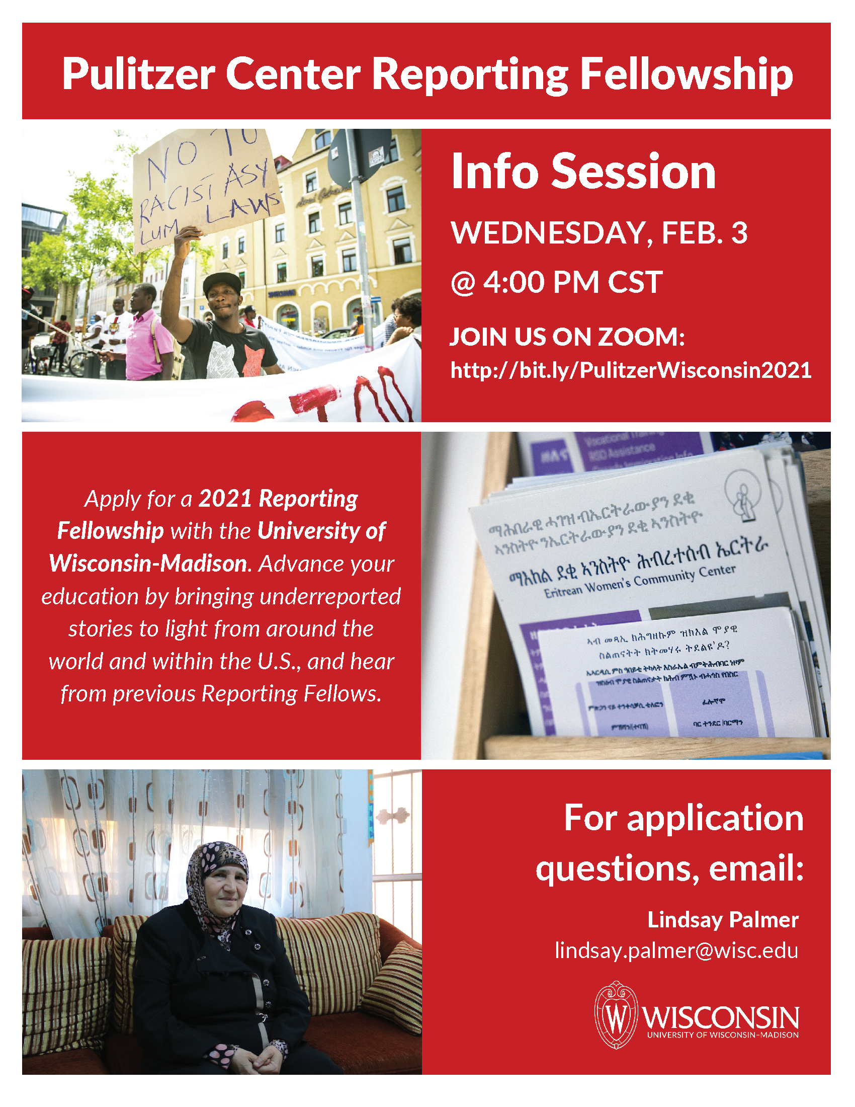 Pulitzer Center reporting Fellowship information session
