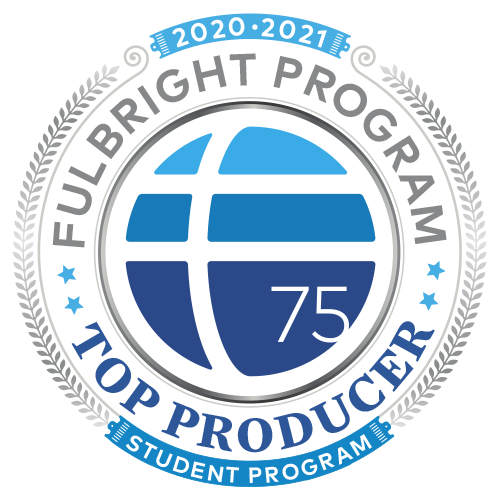 Fulbright US Student Program 2020-2021 top producer