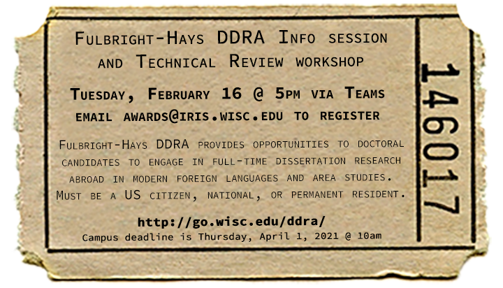 DDRA information session to be held on February 16, 2021